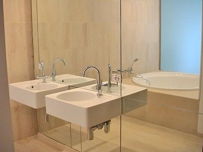 spiegelwand. Black Bedroom Furniture Sets. Home Design Ideas